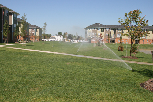 Sprinklers for UB